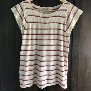 Madewell short sleeved lightweight sweater